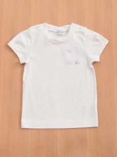 「ベビー」スーピマコットンハートモチーフTシャツ