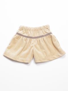 [ベビー]ウォームコーデュロイキュロットスカート
