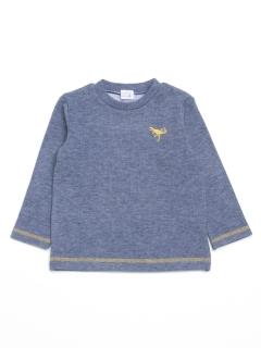 [ベビー・ボーイズ]ダブルジャージー起毛長袖Tシャツ