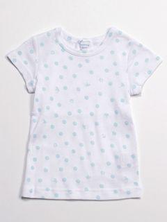 [ベビー]ドットプリントインナー半袖Tシャツ