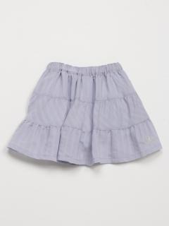 [ベビー]シャドーストライプスカート(インナーパンツ付き)