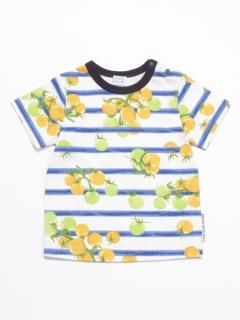 [ベビー・ボーイズ]プチトマトプリント半袖Tシャツ