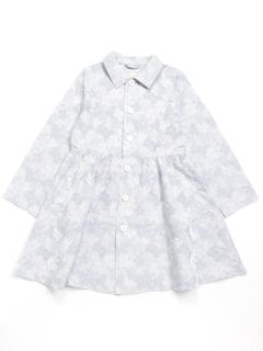 [ジュニアサイズ]カモフラージュ柄ジャガードスプリングコート
