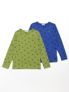 [セット商品]2枚組み長袖Tシャツ