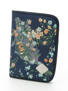 [ベビー]パッチワーク小花プリント母子手帳ケース