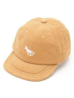 [ボーイズ]ワンポイント恐竜コーデュロイキャップ