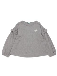 [ジュニアサイズ]袖切替デザイン長袖Tシャツ