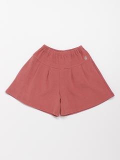 [ジュニアサイズ]Wフェイスニットキュロットスカート(あったか)