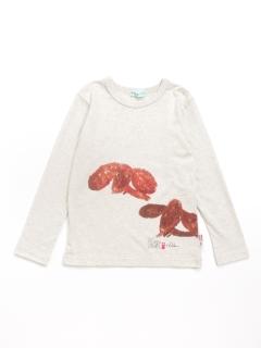 [ジュニアサイズ・コラボ商品]MAYA MAXX オリジナルキャラクタープリント長袖Tシャツ