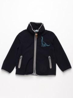 [フード収納可]オリジナル刺繍ナイロンジャケット