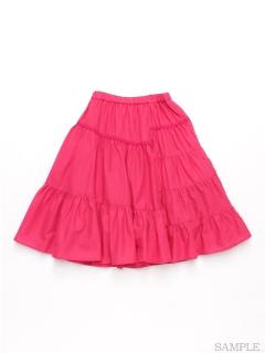 [ジュニアサイズ]ビビットカラースカート