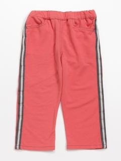 [ジュニアサイズ]脇カラーテープポイント付き5.5分丈パンツ