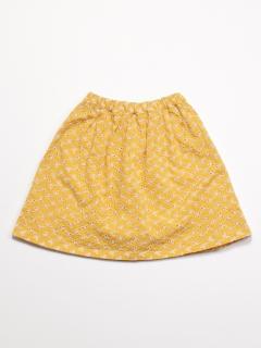 [ジュニアサイズ]コットンレーススカート