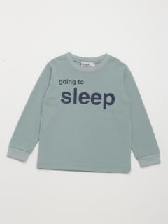 [ボーイズ]h/BOY メッセージプリント長袖Tシャツ