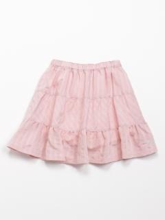 [ジュニアサイズ]シャドーストライプスカート(インナーパンツ付き)