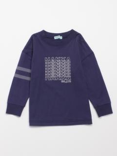 [ジュニアサイズ・ボーイズ]抗菌加工オーバーサイズ長袖Tシャツ(TIOTIO加工)