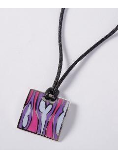 カラフル エポキシ(40ミリ) ファッション ネックレス(AMOUR認定書カード付)