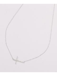 ダイヤモンドクロスネックレス(AMOUR認定書カード付)