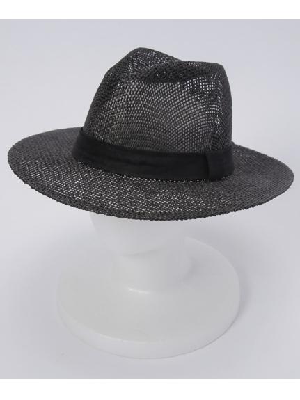 grace (グレース) 【ユニセックス】THE LONG BRIM HAT BLACK