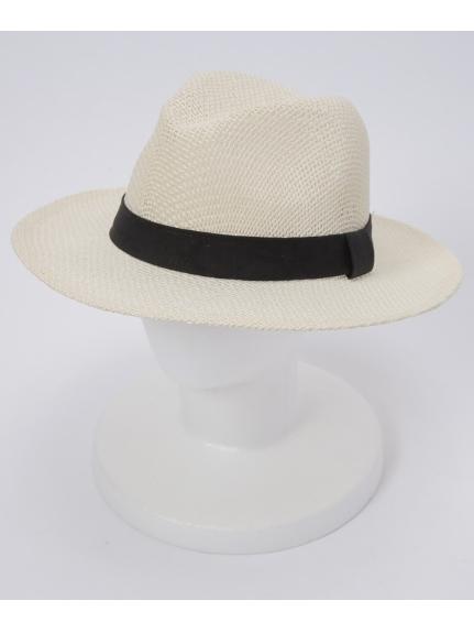 grace (グレース) 【ユニセックス】THE LONG BRIM HAT WHITE