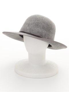 【ユニセックス】FLAT BRIM BOWLER HAT