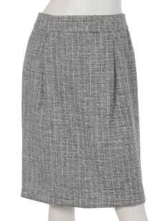 ミックスツィードタイトスカート
