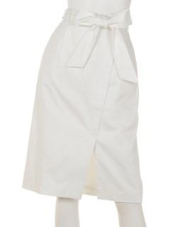 サッシュリボンタイトスカート