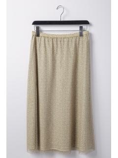3Dチェーンプリントスカート