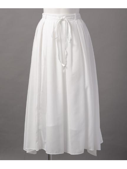 65%OFF ELLE (エル) スカート ホワイト