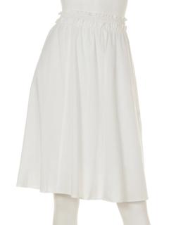 シャーリングギャザースカート