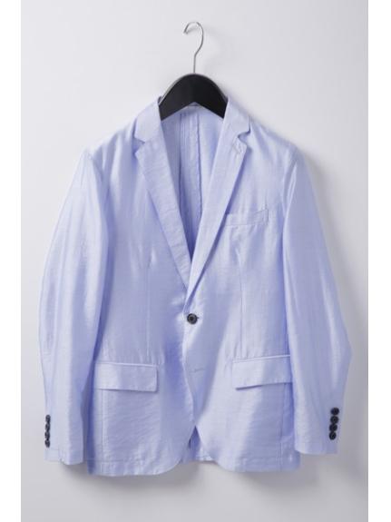 MICHEL KLEIN HOMME (ミッシェルクランオム) ドビージャケット ブルー