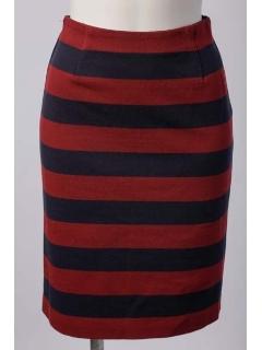 パイナップルボーダータイトスカート