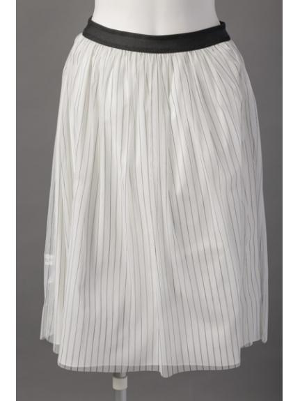 MK (エムケー) チュールリバーシブルスカート ホワイト