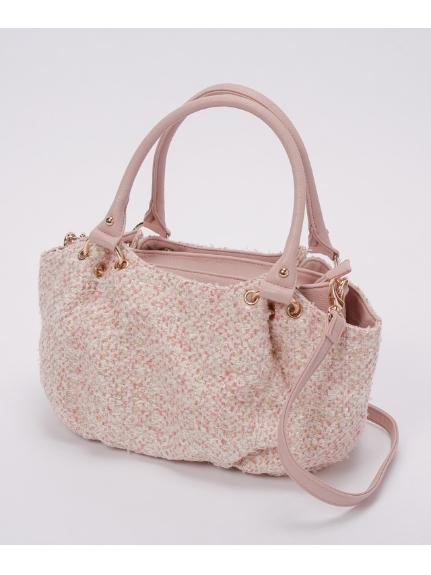 MK MICHEL KLEIN BAG (エムケーミッシェルクランバッグ) 2WAYバッグ ピンク1
