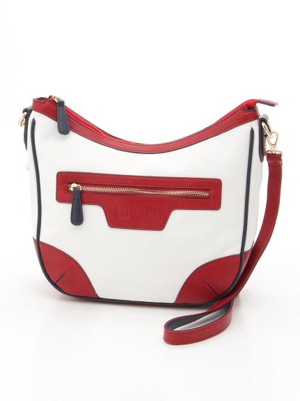MK MICHEL KLEIN BAG (エムケーミッシェルクランバッグ) 【MKバッグ】ショルダーバッグ ホワイト