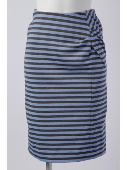 65%OFF OFUON (オフオン) スカート ブルー