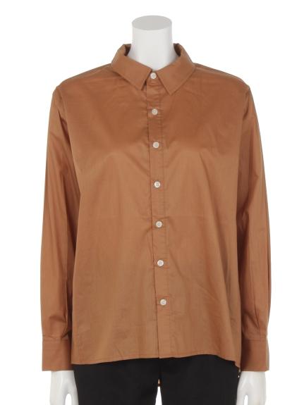 ZAMPA (ザンパ) オーバーサイズシャツ キャメル