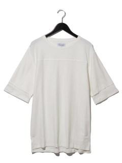 カットオフフェイクレイヤードTシャツ