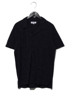 ボタニカルジャガードオープンシャツ