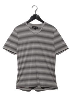 グラデボーダーTシャツ