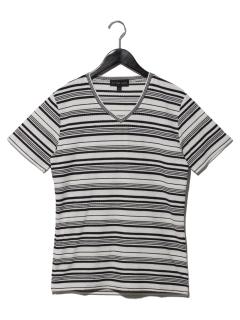 ロープボーダーTシャツ
