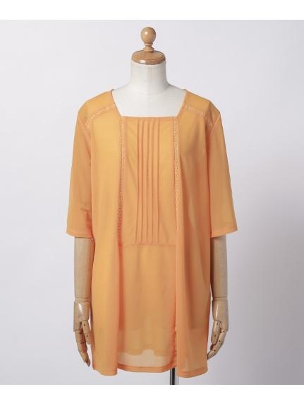 MB mint breeze (エムビーミントブリーズ) カットソー オレンジ