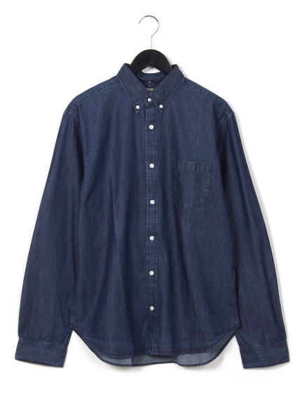 JOEY (ジョーイ) デニムボタンダウンシャツ インディゴ