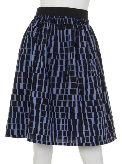 KAWAI OKADA (カワイオカダ) スカート ブルー
