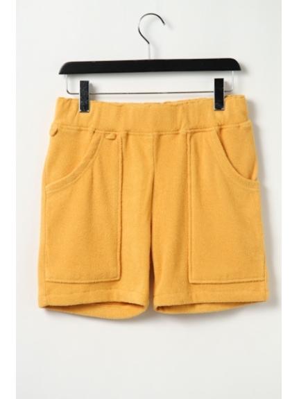 MAGIC NUMBER (マジックナンバー) W-Pile Shorts lt. mustard