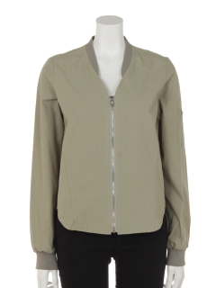 basicMA-1シャツ型ブルゾン