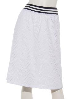 アイレット刺繍レーススカート