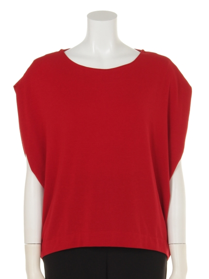 MAX tricot tricot (トリコトリコ) ベアテンノースリーブTシャツ レッド