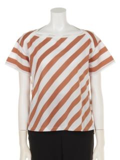 バイヤスボーダー半袖Tシャツ
