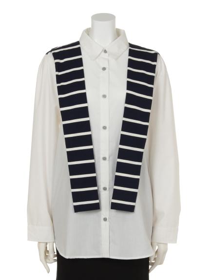 soobinie (スビニエ) スタイリッシュシャツ ホワイト